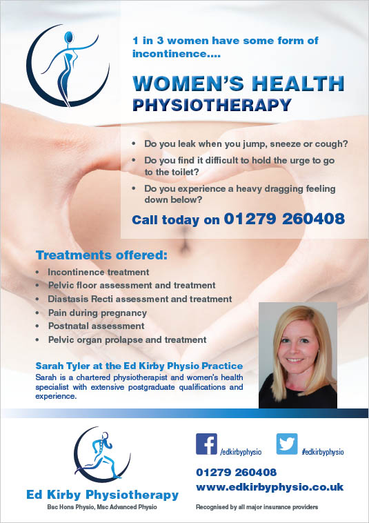 Sarah Tyler - Women's Health Physiotherapist